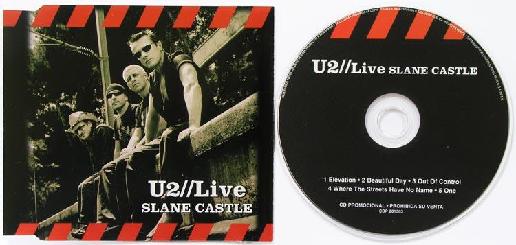 cd u2 live from slane castle